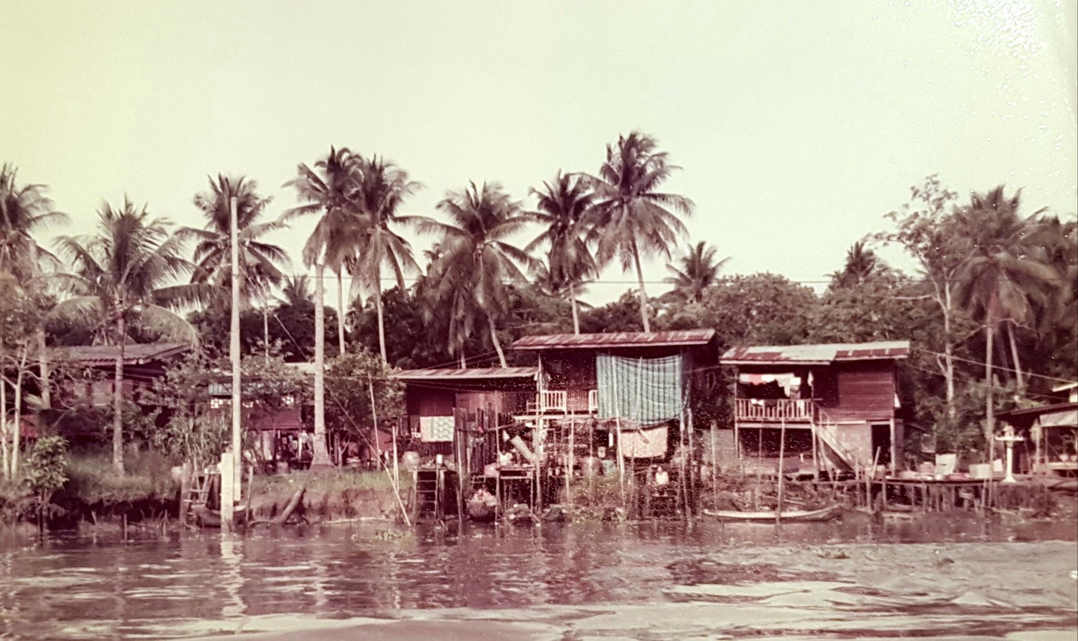 Paalwoningen in Thailand